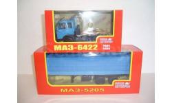 МАЗ-6422 (НАП Н796) + МАЗ-5205 с тентом (НАП Н851)