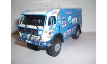 КАМАЗ-4911 № 505 ралли Лиссабон-Дакар 2007 год Eligor, масштабная модель, 1:43, 1/43