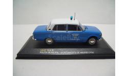 ВАЗ ЛАДА Сеат-124D полиция Мадрида, масштабная модель, Altaya, 1:43, 1/43