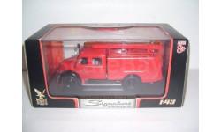 Пожарная Magirus-Deutz Merkur TLF16  1961 Yat Ming 43010