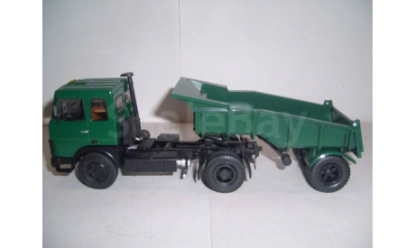 МАЗ-5432 + МАЗ-5232В, масштабная модель, 1:43, 1/43, Markun Toys