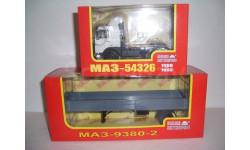 МАЗ-54326 (НАП Н709) + МАЗ-9380-2 (НАП Н858)