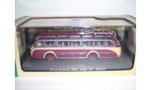 Автобус Henschel HS-100N 1953 г. (серия Bus Collection), масштабная модель, Atlas, scale72