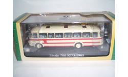 Автобус Шкода-706 RTO 1963 г. (серия Bus Collection), масштабная модель, Škoda, Атлас, scale72