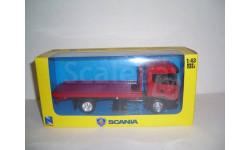 Scania Скания-R124L 400 автоэвакуатор, масштабная модель, 1:43, 1/43, New-Ray