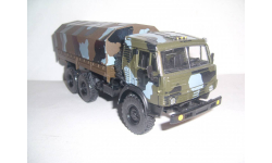 КАМАЗ-5350 камуфлированный, семейство Мустанг 6х6  с покрышками КАМА-1260-1