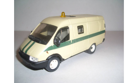 ГАЗ-2705 комби инкассация АГАТ ТАНТАЛ, масштабная модель, scale43