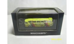 Автобус Мерседес-Бенц  О302. Германия. ЧМ 1974. Minichamps. Масштаб 1:160