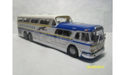 Автобус GREYHOUND SCENIC CRUISER (тестовый выпуск итальянская автобусная серия №4), масштабная модель, Hachette, scale43