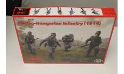 35673 Австро-Венгерская пехота (1914) (4 фигуры) 1:35 ICM