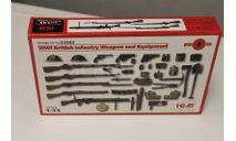 35683 Оружие и снаряжение пехоты Великобритании 1МВ 1:35 ICM, миниатюры, фигуры, 1/35