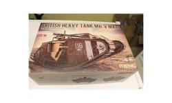 TS-020 BRITISH HEAVY TANK Mk.V MALE 1:35 Meng