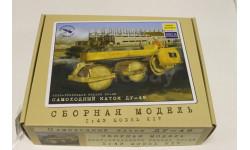 Сборная модели Дорожный каток ДУ-49 1:43 Автомобиль в деталях
