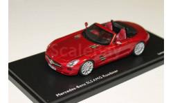 MERCEDES-BENZ SLS AMG Roadster (R197) 2011 Red Metallic  1:43 Schuco