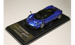 PAGANI Huayra 2013 Metallic Blue/Black 1:43 GT AUTOS