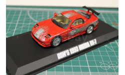 MAZDA RX-7 1993 Red 'Fast & Furious' (из к/ф 'Форсаж')1:43 GREENLIGHT