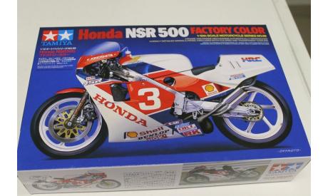 14099 Honda NSR500 Factory Color 1:12 Tamiya, сборная модель мотоцикла