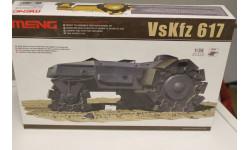 SS-001 VsKfz 617 Minenraumer 1:35 Meng, сборные модели бронетехники, танков, бтт, 1/35