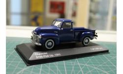 CHEVROLET 3100 Pick-Up 1950 Blue 1:43 WHITEBOX, масштабная модель, 1/43