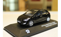 HYUNDAI i30 5-doors 2013 Black  1:43 IXO, масштабная модель, 1/43