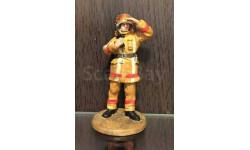 С РУБЛЯ!!! Del Prado 1:32 Фигурка Fireman (Russia) — 2002