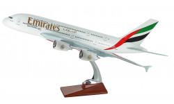 Большая модель самолета Аэробус А380 авиакомпании EMIRATES 45 см., масштабные модели авиации, Airbus, 1:160, 1/160