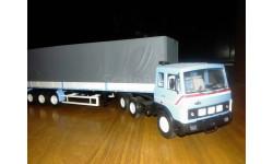 МАЗ-6422 с полуприцепом МАЗ-9758 АИст, масштабная модель, Автоистория (АИСТ), scale43