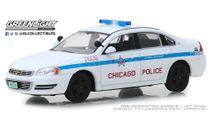ЦЕНА!!! Chevrolet Impala 'City of Chicago Police Department' 2010, масштабная модель, Greenlight Collectibles, scale43