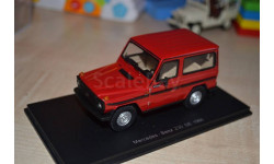 MERCEDES 230 GE 1980 ROUGE