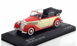 Mercedes 230 W153 Cabrio 1:43 White Box Limited Edition 1000 pcs