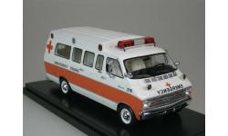 Dodge Horton Emergency USA 1973 1:43 Neo, масштабная модель, Neo Scale Models, scale43