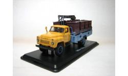 Контейнерный мусоровоз М-30 Газ 53 ранний, масштабная модель, Start Scale Models (SSM), scale43