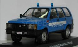 Полицейские машины мира. Спецвыпуск 2. Raiton Fissore Magnum 2,5 TDI, масштабная модель, 1:43, 1/43, Полицейские машины мира, Deagostini