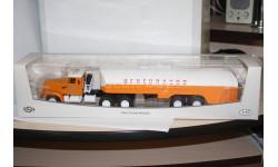 КрАЗ-258 с полуприцепом-цистерной ТЗ-22 Аэрофлот,SSM Распродажа!!!, масштабная модель, scale43