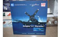 Douglas A-1H Skyraider Vietnam 1968,Hobby Master, масштабные модели авиации, scale72