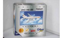 1:400 DC-10-30 National, GeminiJets