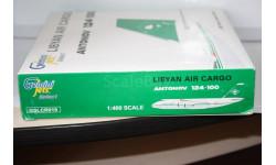 1:400 AN-124 Libyan Air Cargo,5A-DKL ,GeminiJets