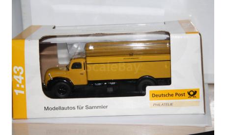Magirus S6500  Deutsche Post,Schuco Распродажа!!!, масштабная модель, 1:43, 1/43