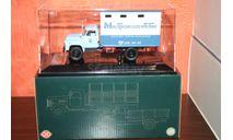 ГЗСА-893АБ 1978(газобаллонный) 'МосТрансАгенство',DIP, масштабная модель, scale43