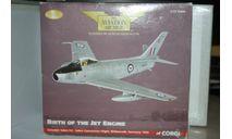 1/72 Canadair Sabre F.4 ,Corgi, масштабные модели авиации, scale72