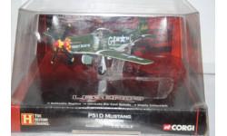 1:72 P51D Mustang Kit Carson,Corgi, масштабные модели авиации, 1/72