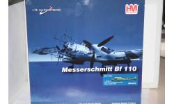 1:72 Messerschmitt Bf-110 Finland 1942,Hobby Master, масштабные модели авиации, 1/72
