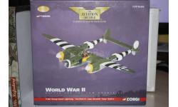 P-38J Lightning 1944,Corgi, масштабные модели авиации, 1:72, 1/72