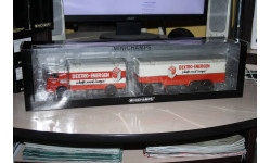 Büssing LU11/16 Kofferzug Dextro Energen,Minichamps