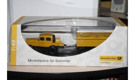 Hanomag ST 100 Deutsche Bundespost,Schuco Распродажа!!!, масштабная модель, 1:43, 1/43