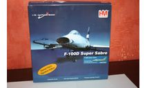 F-100D Super Sabre George AFB, August 1958,Hobby Master, масштабные модели авиации, North American, scale72