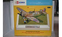 1:72 Spitfire Mk IA RAF Flt. Lt. Adolf Malan,Corgi, масштабные модели авиации, 1/72
