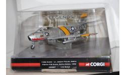 1:72 F-86A Sabre Корейская война 1952,Corgi, масштабные модели авиации, 1/72