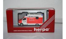 Mercedes-Benz Sprinter Feuerwehr,HERPA, масштабная модель, scale87