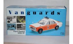 Ford Consul 3000 GT POLICE,Vanguards Распродажа!!!, масштабная модель, 1:43, 1/43